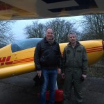 Robert with Instructor Adrian